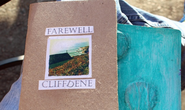 Cover of Farewell Cliffdene, Gareth Watkins, The Sketchbook Project