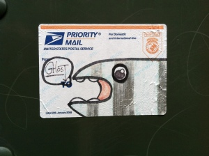 priority whale, by Ghost, behind The Artisan building