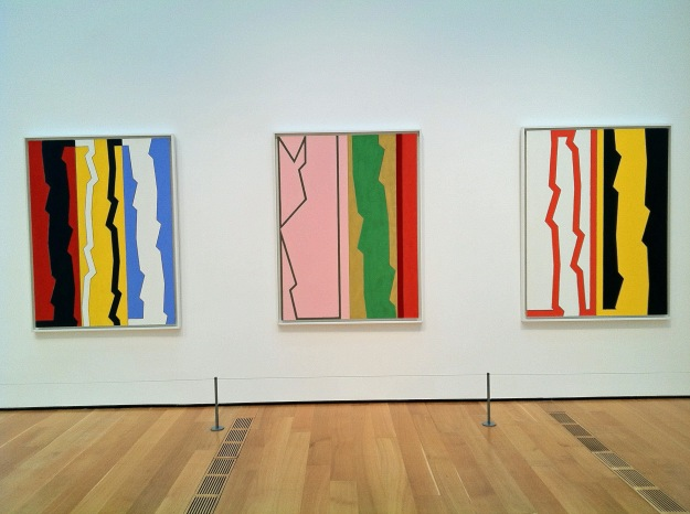 """Three works from """"Counterpoise,"""" by Medford Johnston"""